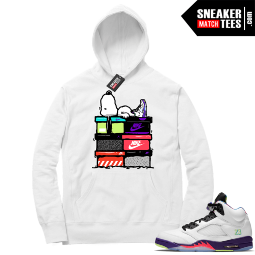 Jordan match sneaker Hoodie Alternate Bel Air 5s