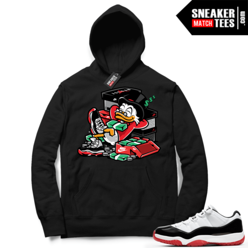 Concord Bred 11 Lows sneaker Hoodies