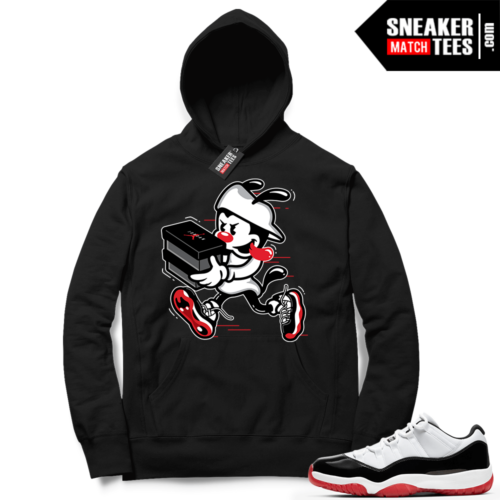 Concord Bred 11 Lows Hoodies to match sneakers
