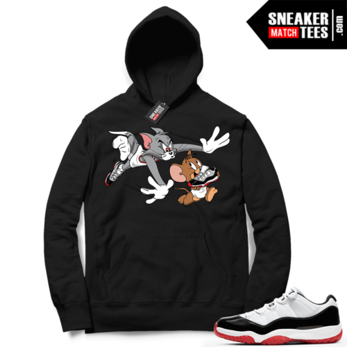 Concord Bred 11 Lows match Hoodies