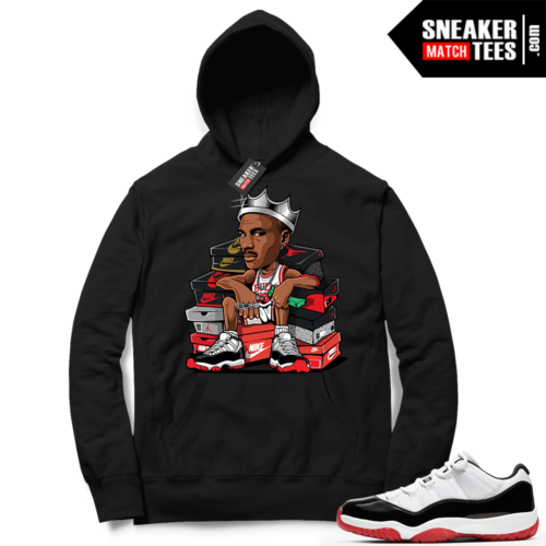Concord Bred 11 Lows matching Hoodie