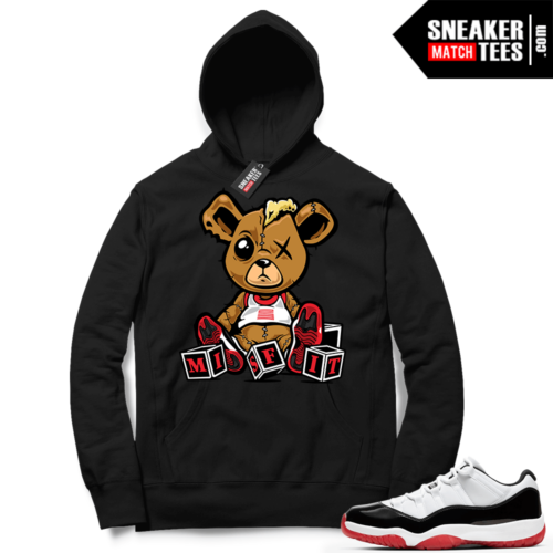 Concord Bred 11 Lows Hoodie outfit