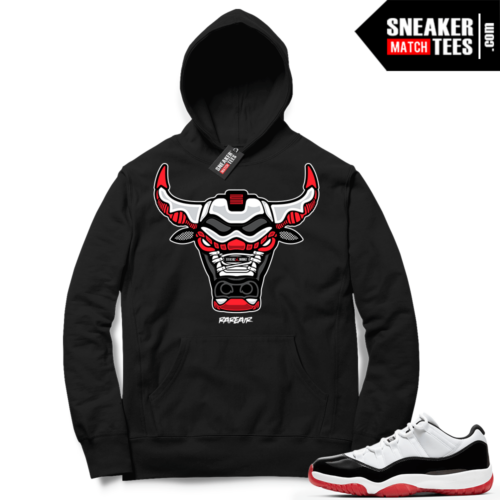 Concord Bred 11 Lows Hoodie to match