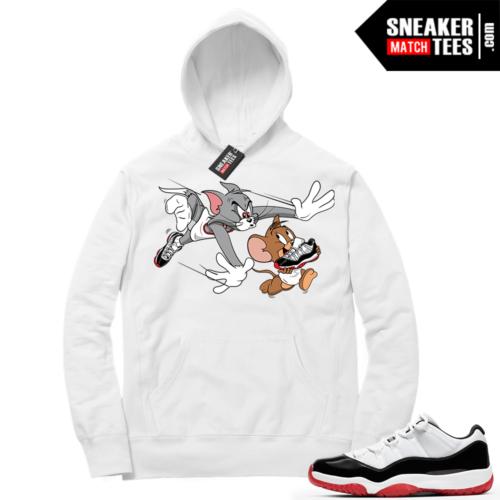 Jordan 11 Low Concord Bred Sneaker Hoodies