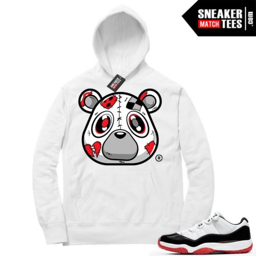 Jordan 11 Low Concord Bred Sneaker Hoodie