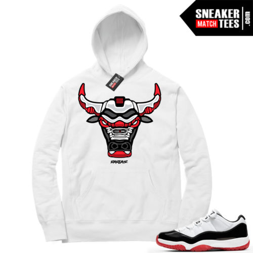 Sneaker Match Jordan 11 Low Concord Bred Hoodies