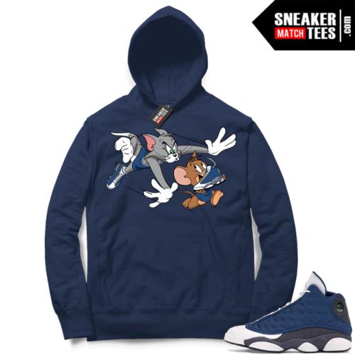 Flint 13s matching sneaker Hoodies