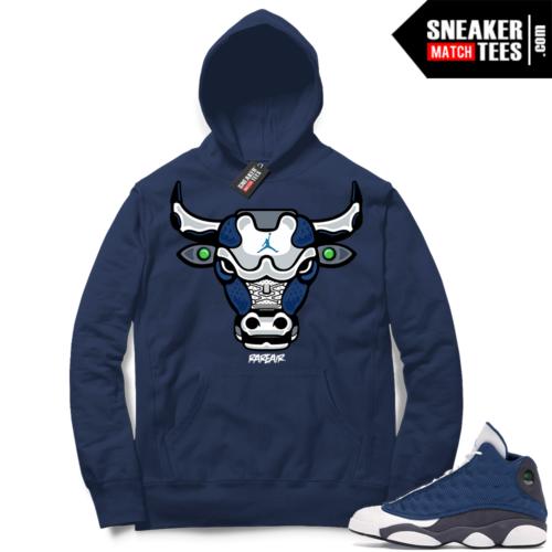 Jordan 13 Flint Sneaker Hoodie