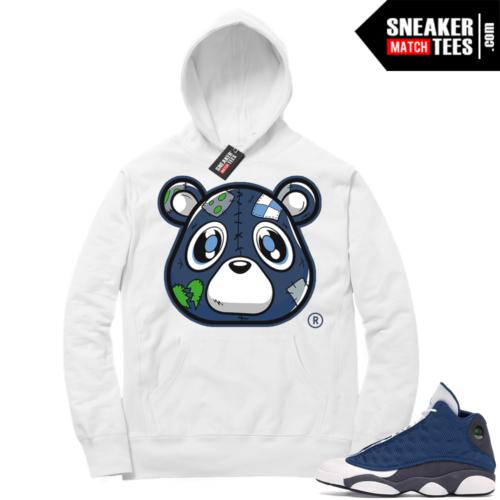 Jordan match sneaker Hoodie Flint 13s