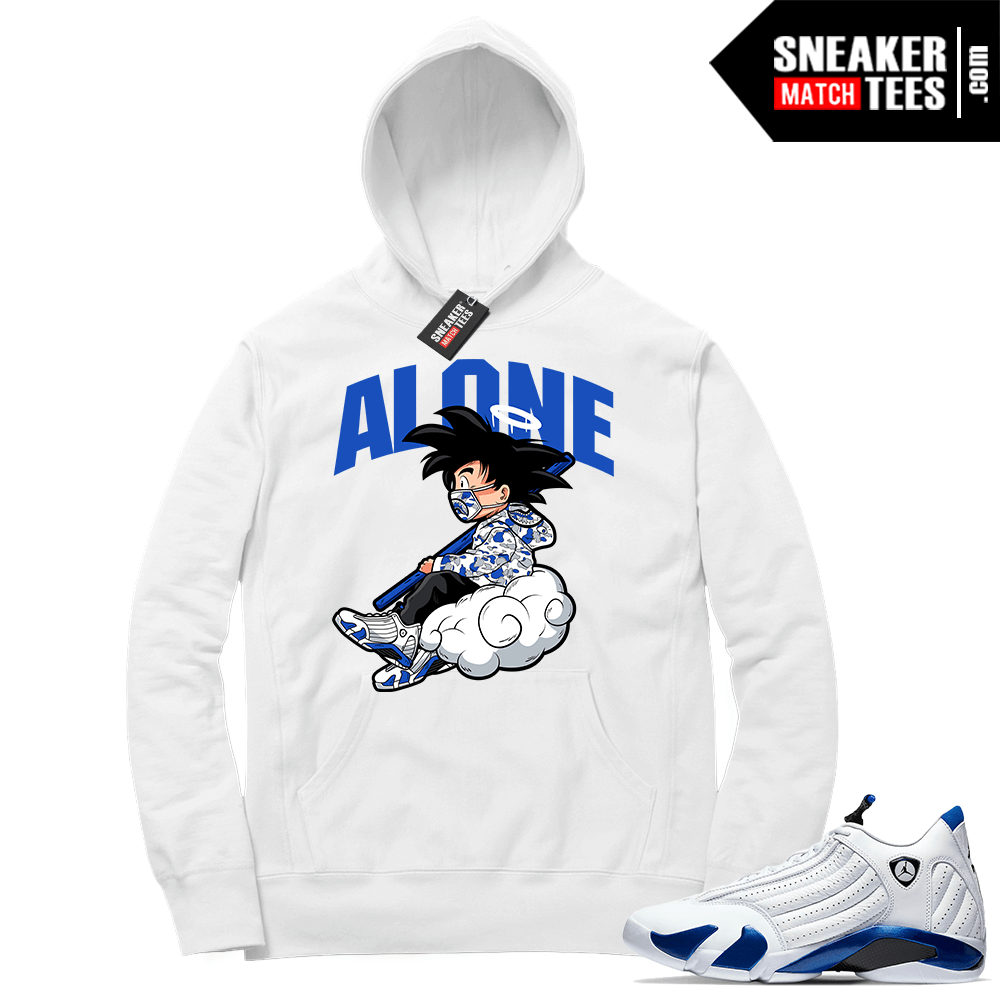 Hyper Royal 14s Match Hoodie Alone
