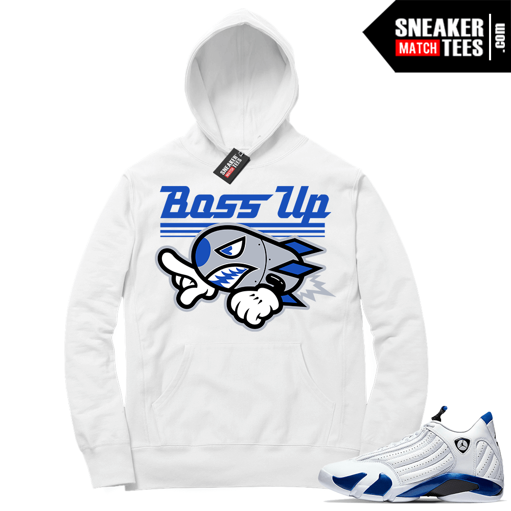 Hyper Royal 14s Match Hoodie Boss Up