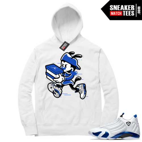 Hyper Royal 14s Match Hoodie Double Up