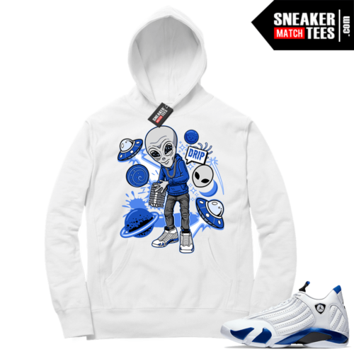 Hyper Royal 14s Match Hoodie Drip Invasion