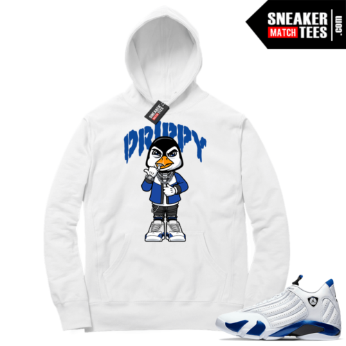 Hyper Royal 14s Match Hoodie Drippy Penguin