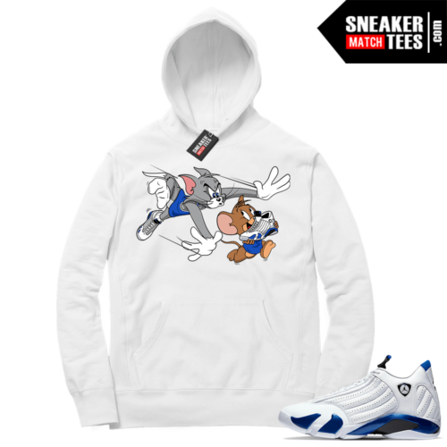 Hyper Royal 14s Match Hoodie Finesse
