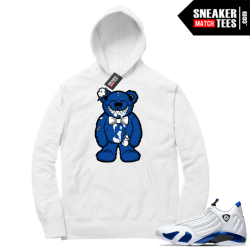 Hyper Royal 14s Match Hoodie Happy Bear