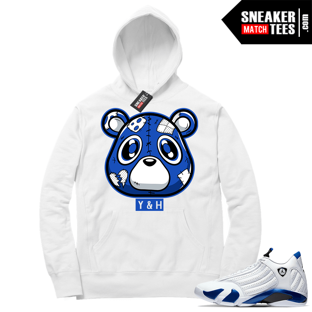 Hyper Royal 14s Match Hoodie Heartless Bear ™