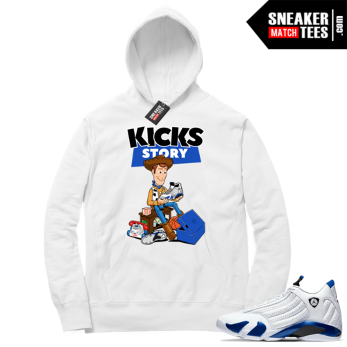 Hyper Royal 14s Match Hoodie Kicks Story