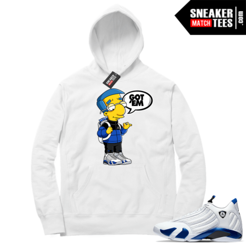 Hyper Royal 14s Match Hoodie Millhouse Got EM