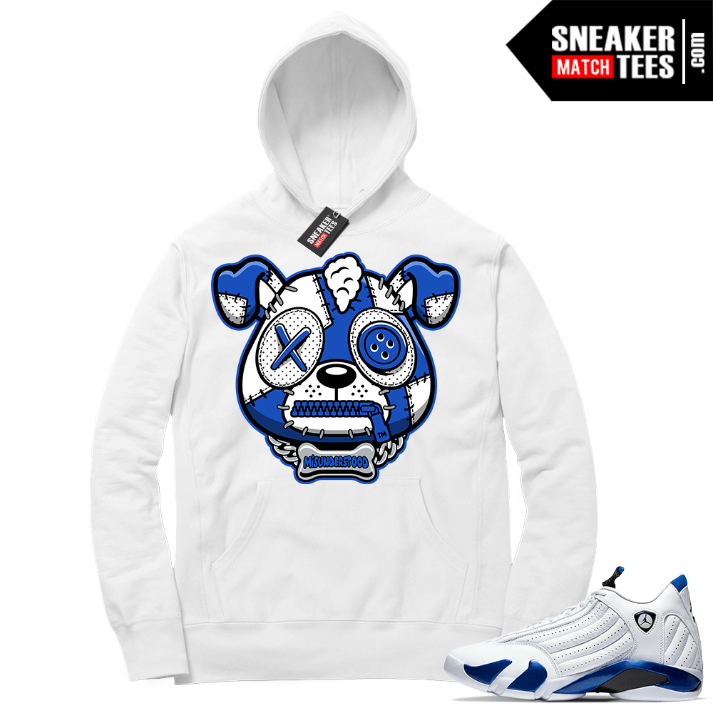 Hyper Royal 14s Match Hoodie Misunderstood Puppy ™