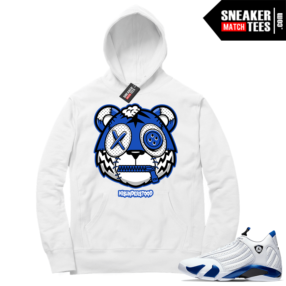 Hyper Royal 14s Match Hoodie Misunderstood Tiger ™