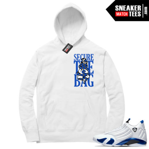 Hyper Royal 14s Match Hoodie Secure the Bag