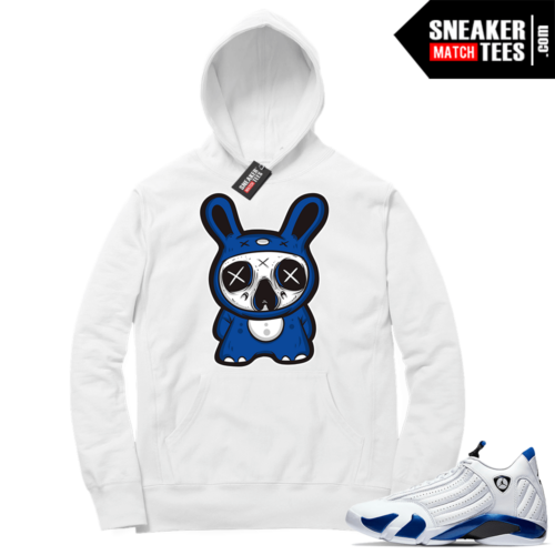 Hyper Royal 14s Match Hoodie Skully bear