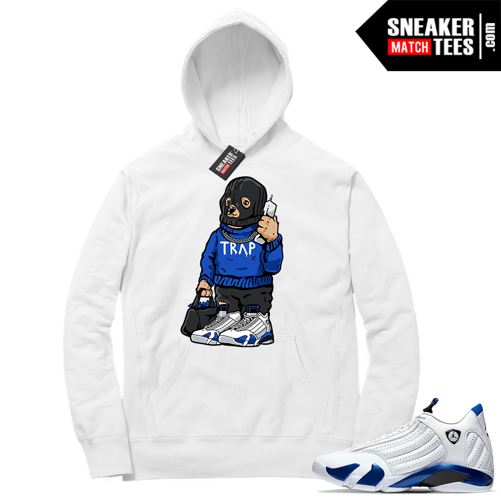 Hyper Royal 14s Match Hoodie Trap Bear