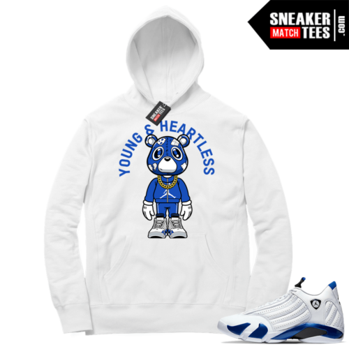 Hyper Royal 14s Match Hoodie Young & Heartless Bear ™ Toon