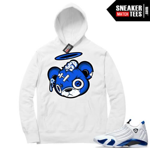 Hyper Royal 14s Match Hoodie Zombie Bear