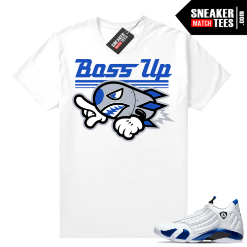 Hyper Royal 14s Match Tee Boss Up