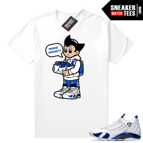 Hyper Royal 14s Match Tee More Shoe Money