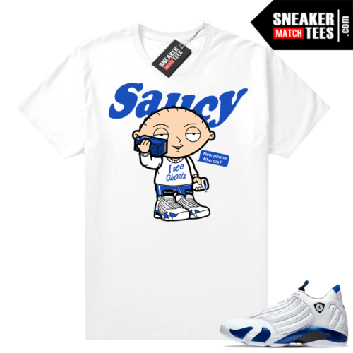 Hyper Royal 14s Match Tee Saucy