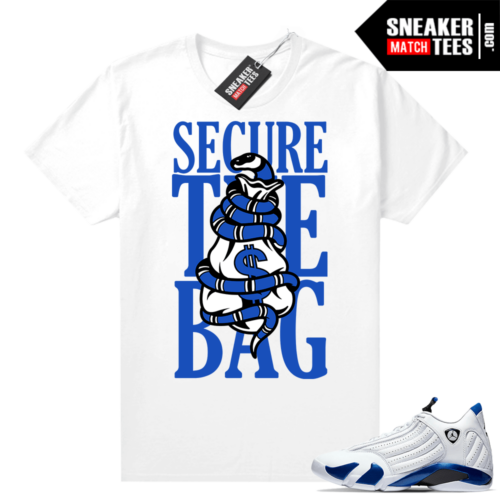 Hyper Royal 14s Match Tee Secure the Bag