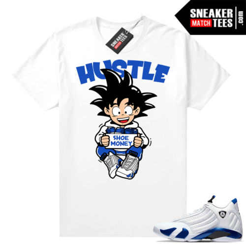Hyper Royal 14s Match Tee Sneaker Hustle