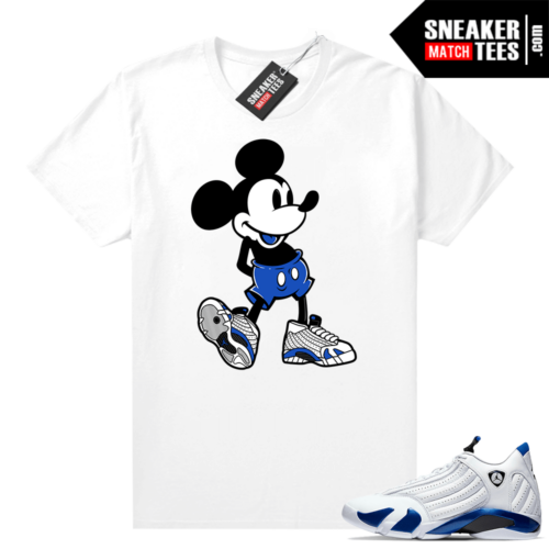 Hyper Royal 14s Match Tee Sneakerhead Mickey