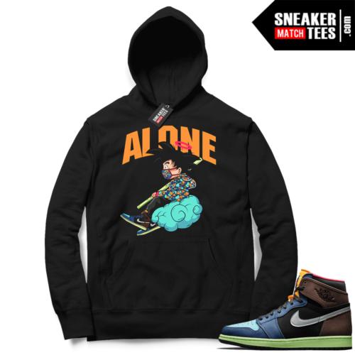 Jordan 1 Biohack Hoodie black Alone