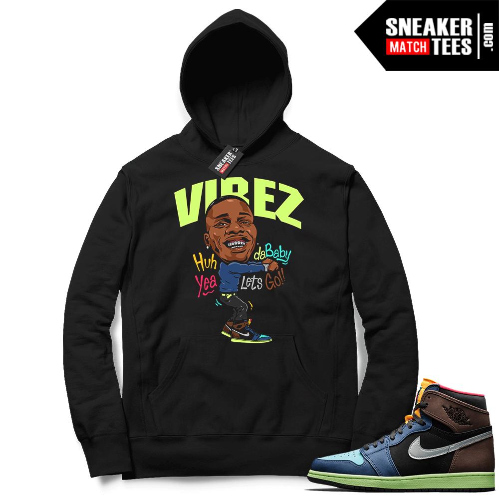 Jordan 1 Biohack Hoodie black Vibez