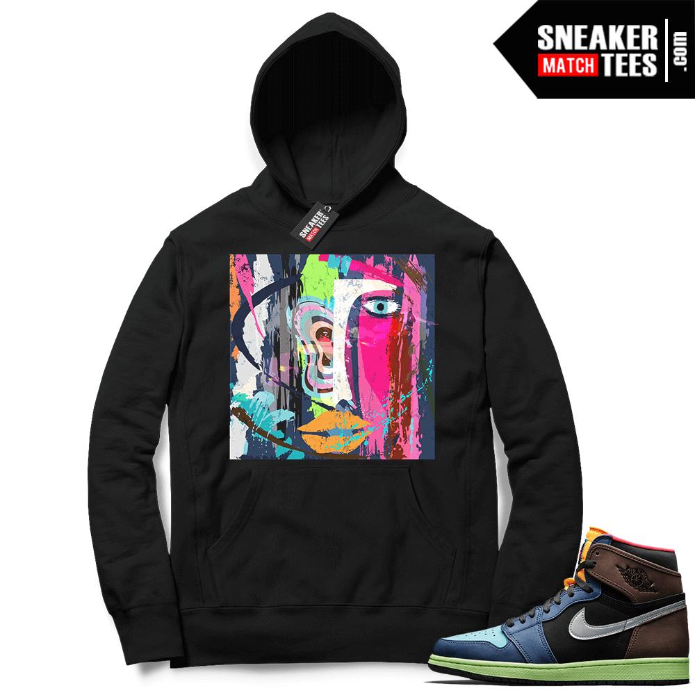Jordan match sneaker hoodie Biohack 1s
