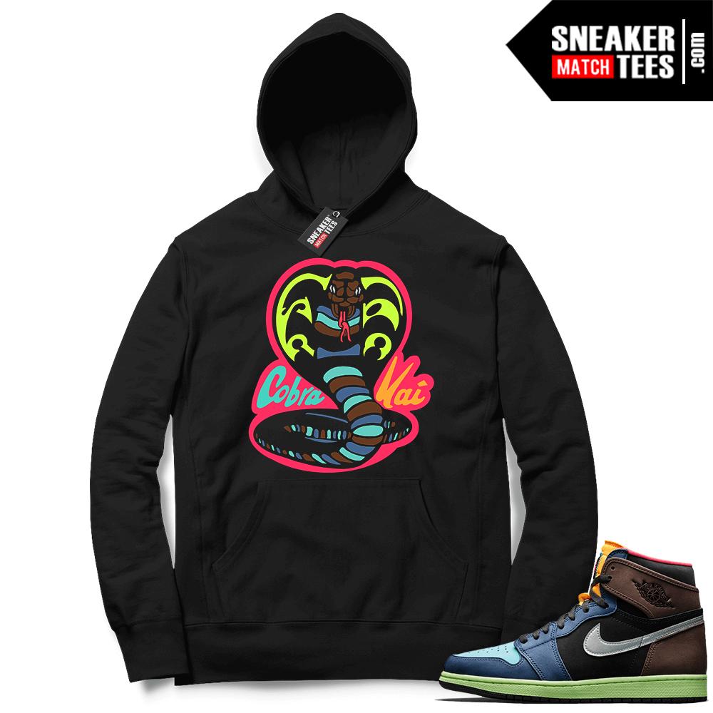 Sneaker hoodies Jordan 1 Biohack
