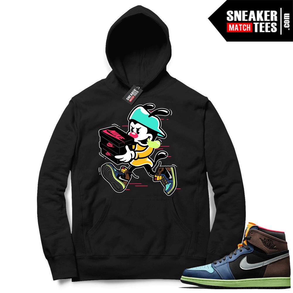 Sneaker hoodies Biohack 1s
