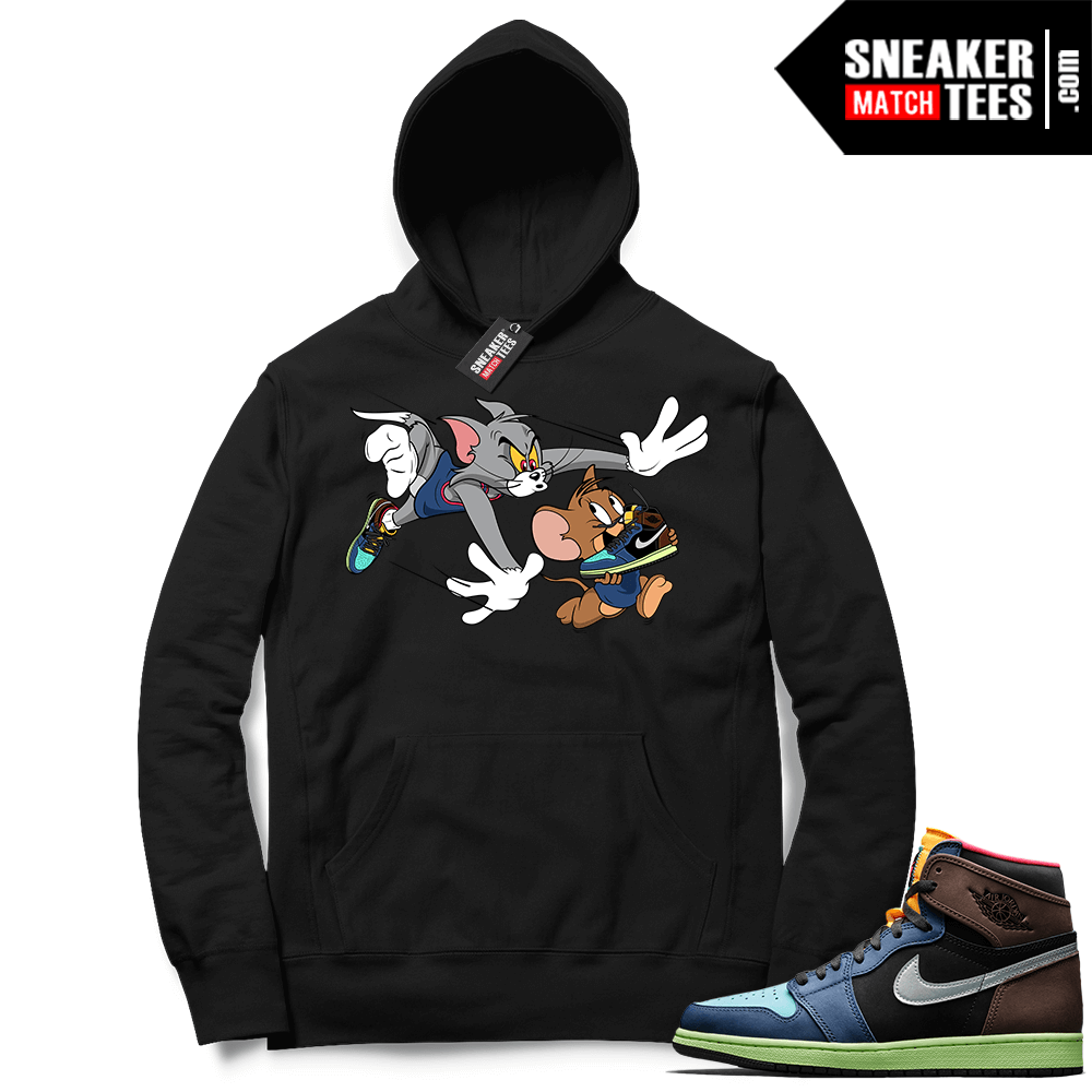 Jordan 1 Biohack sneaker Hoodie black Finesse