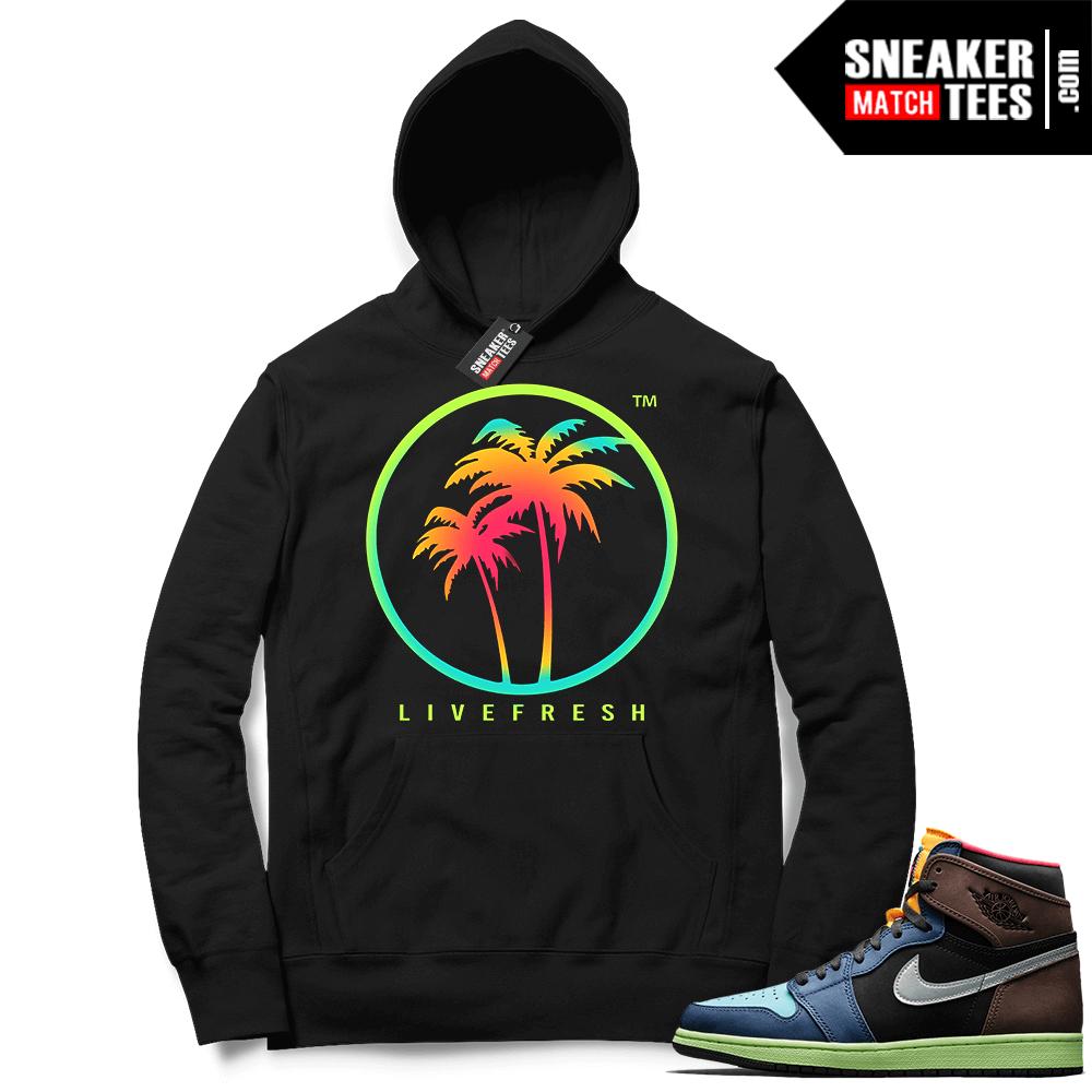 hoodies to match Jordans 1 Biohack