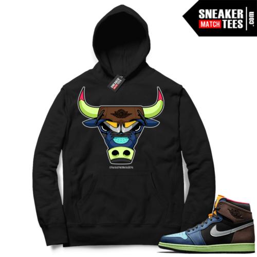 Jordan 1 Biohack sneaker match hoodies