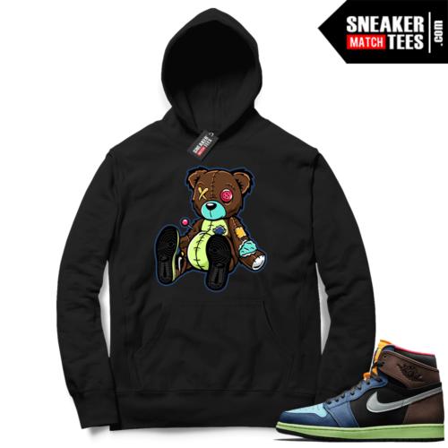 Match Biohack 1s sneaker hoodies