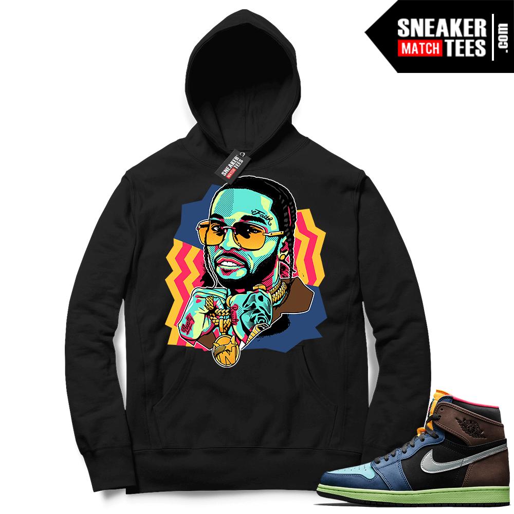 Jordan 1 Biohack sneaker Hoodie black The Woo