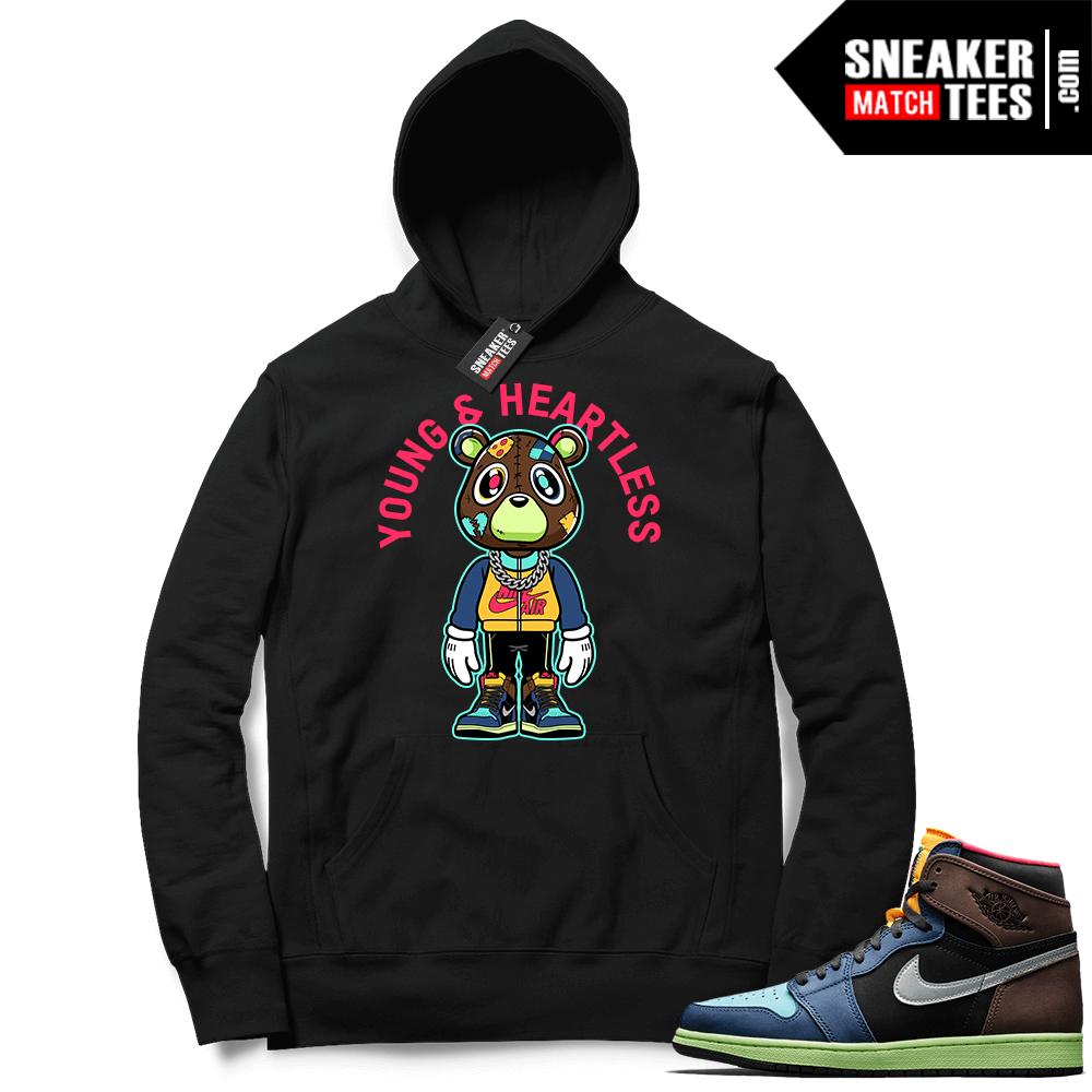 Graphic hoodies matching Biohack 1s