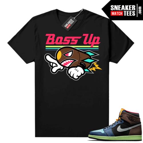 Jordan 1 Biohack sneaker match tees Boss Up