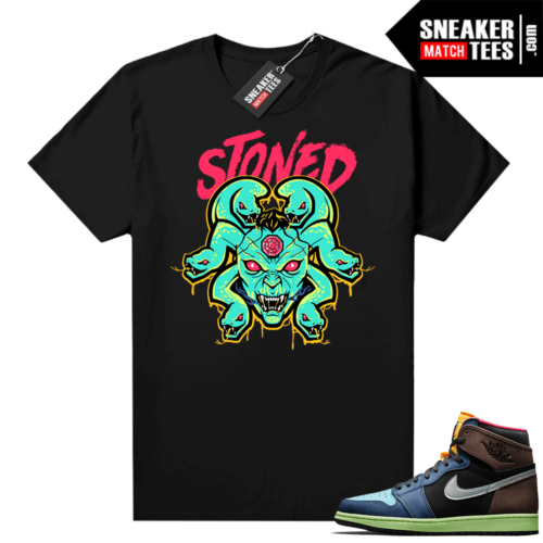 Jordan 1 Biohack sneaker match tees Medusa