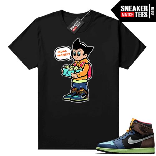 Jordan 1 Biohack sneaker match tees More Shoe Money